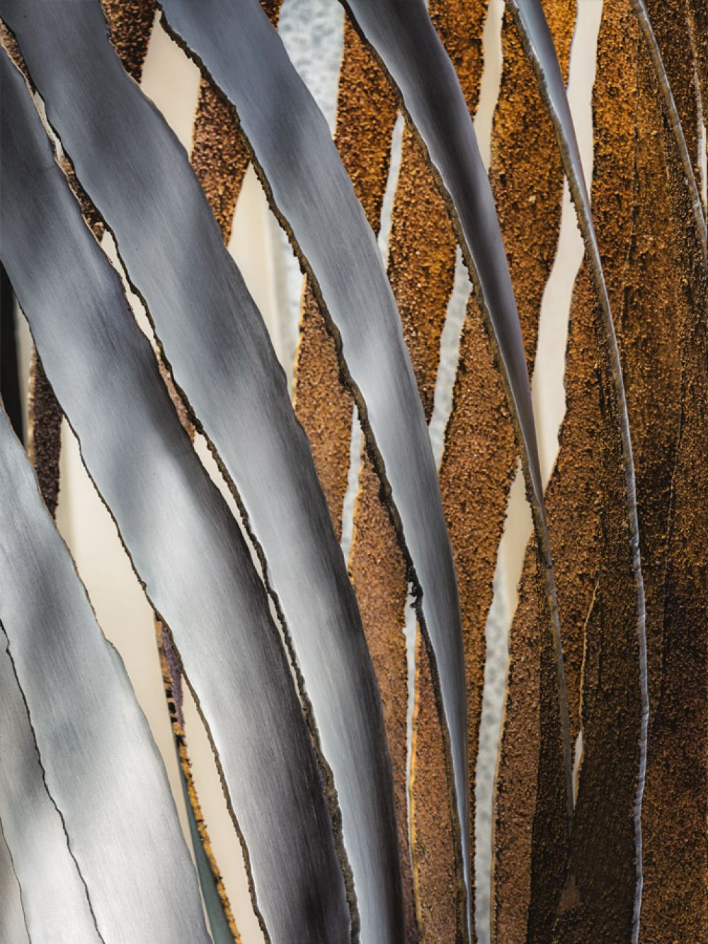 Details Of Koicea stainless steel - oxidized