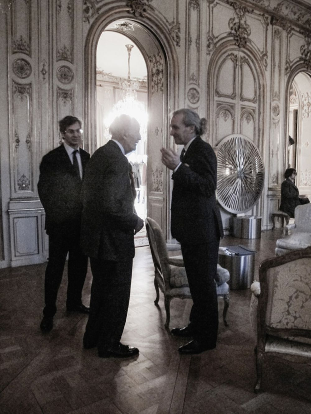 Studio Life 59 - Meeting with Former President of France