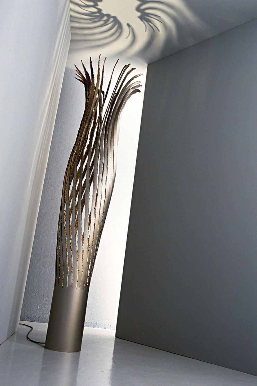 KOICEA C Sculptural Lighting Detail : Stainless Steel