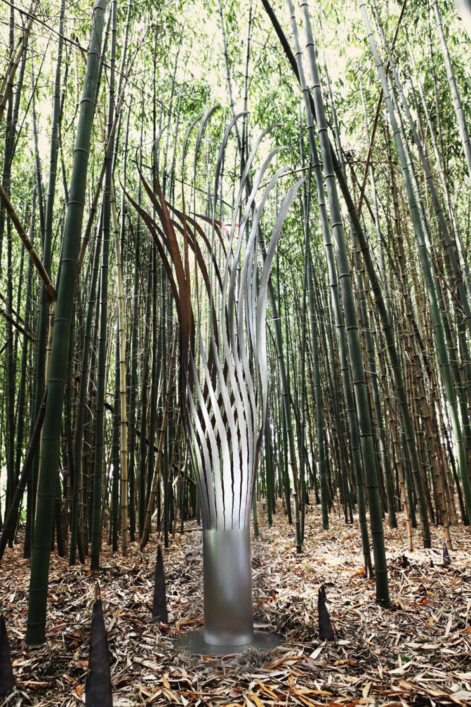 KOICEA Sculptural Lighting OUTDOOR : Stainless Steel