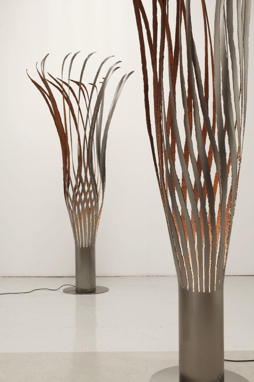 KOICEA Sculptural Lighting : Stainless Steel