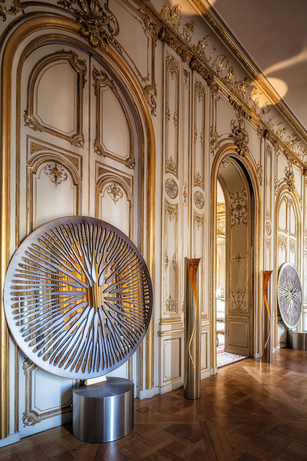 Installation at the Italian Embassy in Paris - 2014