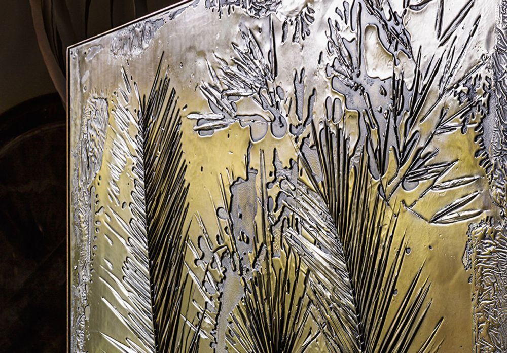 FOSSIL I - Sculptural Panel Detail