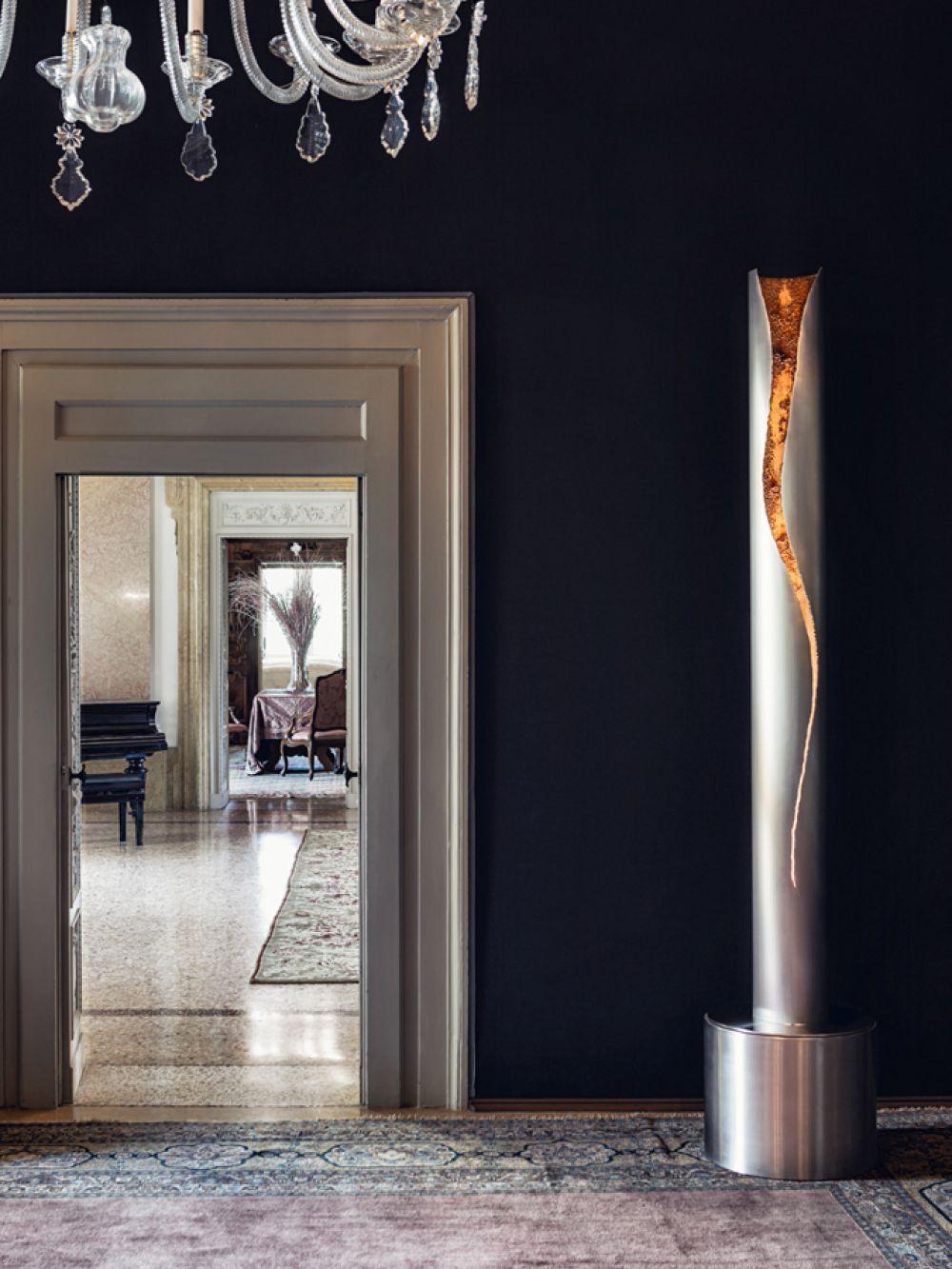 CUT I Stainless steel Sculptural lighting
