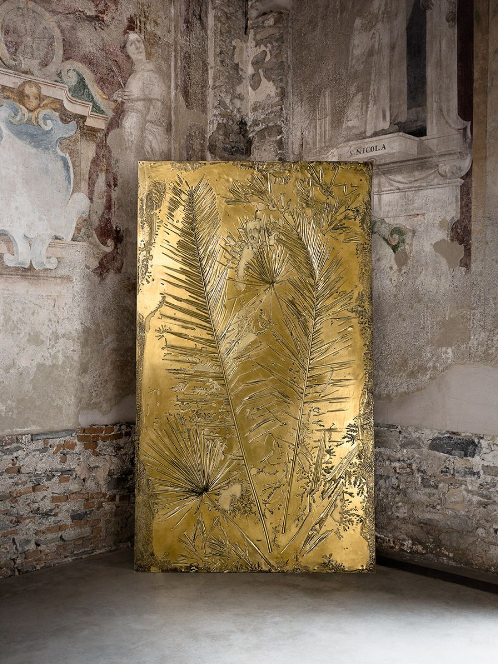 FOSSIL I - Sculptural Panel