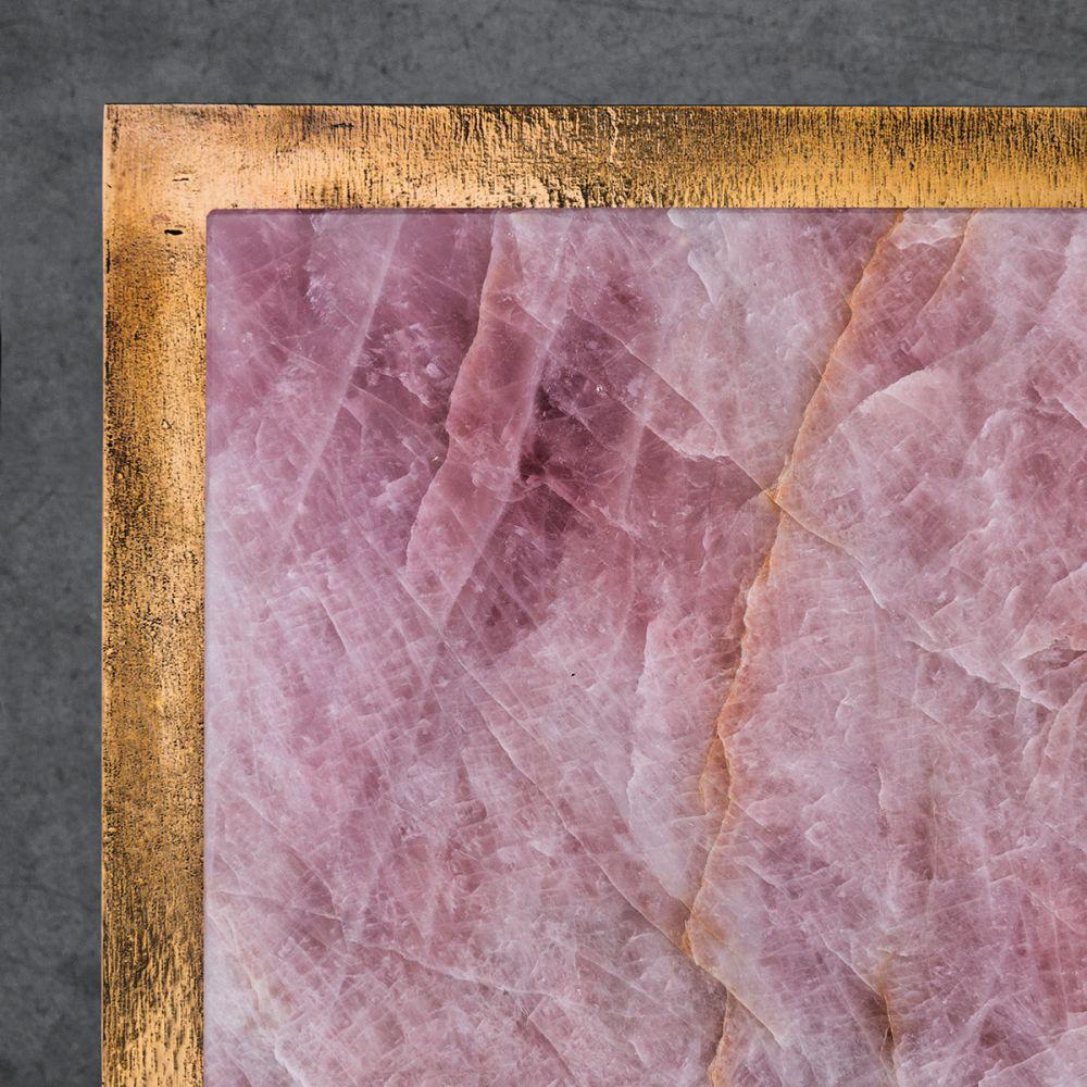 CREMINO DEEP ROSE SIDE TABLE Detail