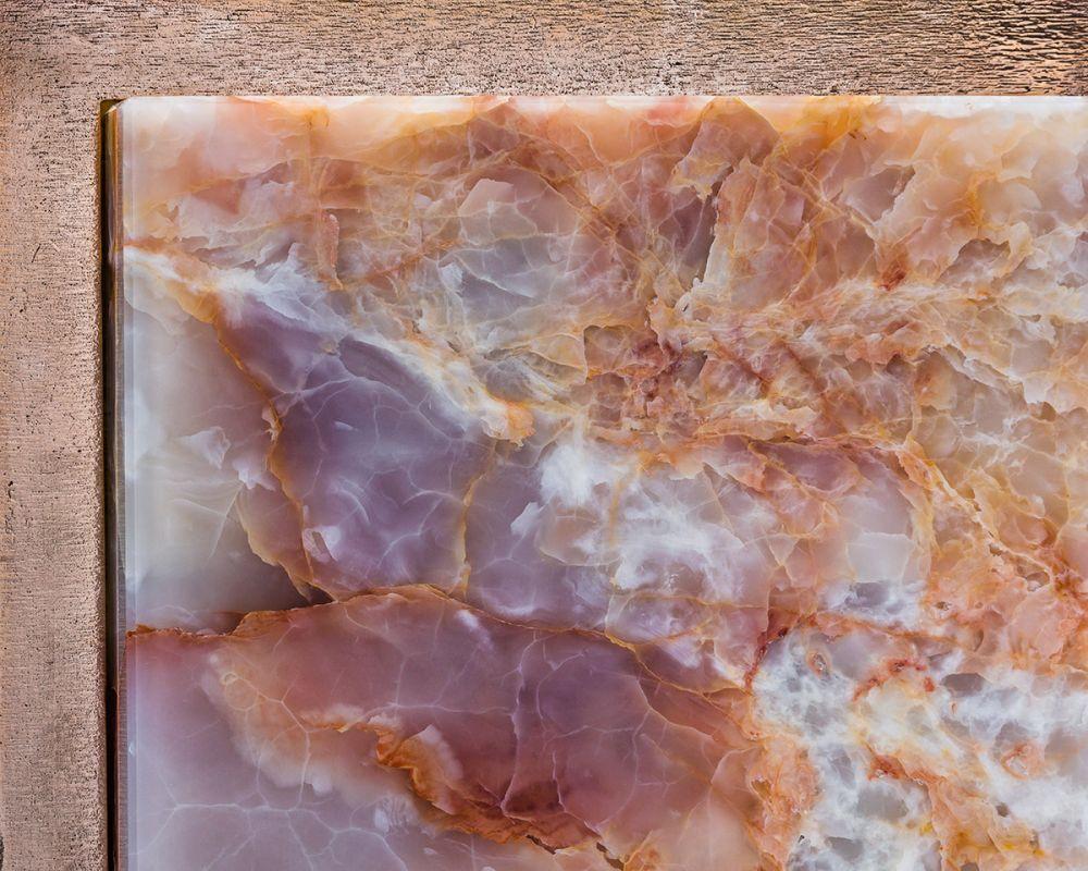 CREMINO ORANGE FLAKES SIDE TABLE Detail
