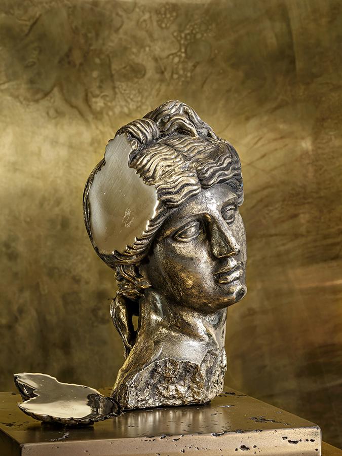 Solid cast Brass Sculpture  FIRST INSPIRATION